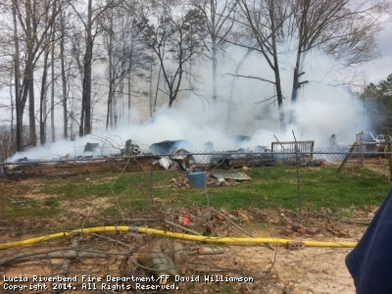 MOBILE HOME FIRE CHATEAU LN (LINCOLN COUNTY)
